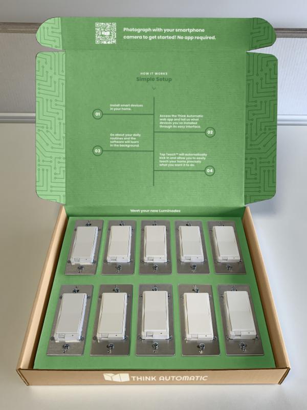 Smart Home Starter Kit - 10 Luminodes